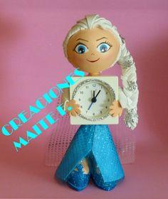 FOFURELOJ Princesa Elsa de Frozen, hecho en goma eva.