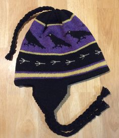 Raven hat Www.pattilynncreations.com