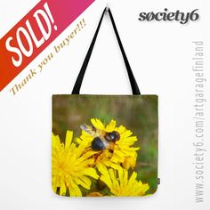 thanks to the buyer of this tote-bag design called 'Ready for take off' from my webstore! Flower Photography, Bag Design, Yellow Flowers, Fashion Accessories, Bee, Reusable Tote Bags, Gift Ideas, Art Market, Artist