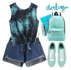 """Romwe #9 VI"" by oliverab ❤ liked on Polyvore featuring Lab, romwe and mint"