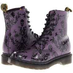 Dr. Martens Cassidy 8-Eye Boot ($135) ❤ liked on Polyvore