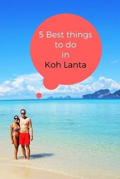 The Magic of Koh Lanta – 5 Best Things to Discover Koh Lanta – a magical island with loads of stuff to do. Have a look at out 5 best things to do on and around the island! Thailand Honeymoon, Visit Thailand, Thailand Travel, Asia Travel, Honeymoon Ideas, Bangkok, Koh Phangan, Vietnam, Chiang Mai