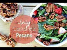 Spicy Candied Pecan Recipe - Healthnut Nutrition