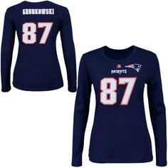 Mens New England Patriots Majestic Navy Blue Line to Gain III T-Shirt