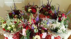 Moss and Mushroom - bespoke wedding floristry and heirloom bouquets by Liza Keane Wedding florist, Ballina Killaloe, Co. Fresh Flowers, Veronica, Christmas Wreaths, Wedding Flowers, Stuffed Mushrooms, Floral Wreath, Bouquet, Weddings, Holiday Decor