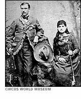 Annie Oakley+ Frank+Butler  - What a woman!