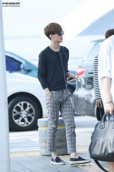EXO-K Sehun airport fashion at Incheon Airport [140727] Facebook Cover http://freefacebookcovers.net