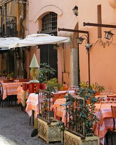 Trastevere, Rome, Italy .... photo, Pinocchio Dines In Rome, Trastevere District, Italy (by njk1951).