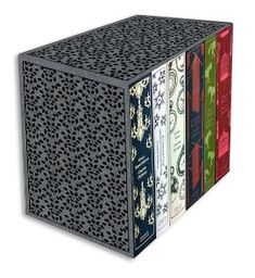 Adorable clothbound collection of Jane Austen novels by Penguin Classics.
