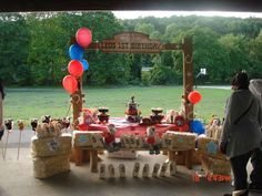 Cowboy Birthday Party Ideas | Photo 17 of 38