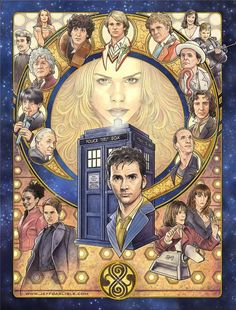 The Doctor and his companions