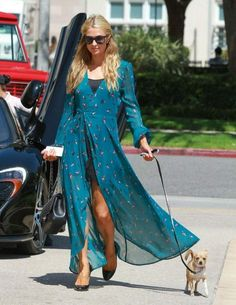 Paris Hilton Stops by Barneys New York in Beverly Hills – June 2014