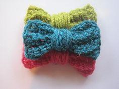 Crochet Pattern: Pretty Pretty Bow -
