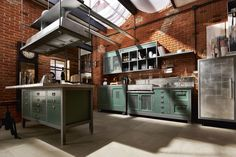 Marchi Group – Vintage Kitchen Loft - Inspired by today's urban environments unambiguos and singular.