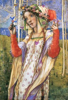 "Edward Reginald Frampton (1870–1923)  - ""Fairyland"""