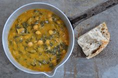 tuscan chickpea and chard soup