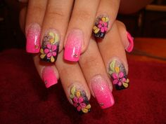 20 Trendy and Stylish Spring Nail Art Designs 2014 | World inside pictures