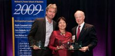 Foster alums honored at 2009 Business Leadership Celebration