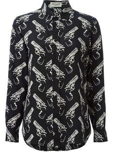 gun pop blouse - Google Search