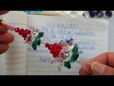 How to bead plant acceceroy: Little Lotus - YouTube