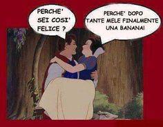 Il #romanticismo secondo #Biancaneve  #frasi #quotes #principessa #sischerza