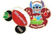 Holiday Disneyland Hotel Stitch pin.