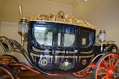 Royal Mews: One of the many carriages.