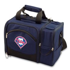 The Philadelphia Phillies Malibu Picnic Tote with picnicking service for two