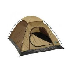 Small Camping Tent 6' x 5' Dome Outdoor Sleeps 1 2 People Beach Sun Shade Gear #StanSport #campingtentbeachshelterhuntinggear