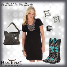 """A Light in the Dark"" by headwestoutfitters on Polyvore"