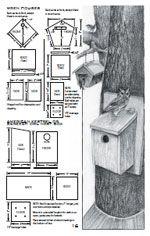 Over 40 free plan for houses & Birdfeeders  Photo