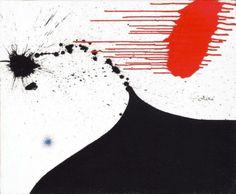 Joan Miró Femme/ Mujer, 1974 Acrílico sobre tela  50 x 61 cm Colección Particular en depósito temporal