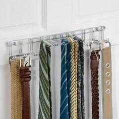 Настенная вешалка для ремней и галстуков Classico