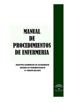 Acceso gratuito. Manual de procedimientos de enfermería Axarquia
