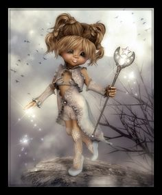 ♥ Little Design ♥ Holly Hobbie, The Rat Pack, Pixie Tattoo, Bratz, Punk Disney Princesses, Baby Fairy, Witch Art, Anime Dolls, Little Designs