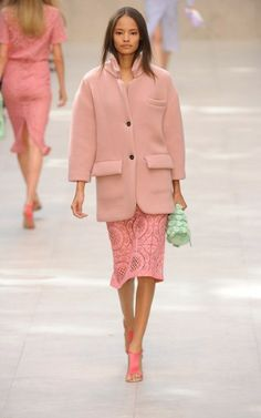 @Burberry s/s 2014 - all stunning easy elegance in perfect colours