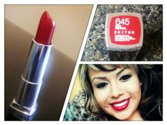 New fave red lipstick ... Revlon Red Revival ♥ great blue based red