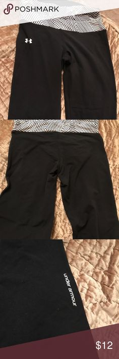 Yoga pants Under Armour yoga jogging pants great used condition size m Under Armour Pants Track Pants & Joggers