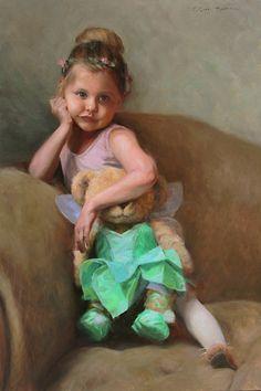 Anna Rose Bain, American Artist, American Painter, Paintings, Portrait painter, Portrait Paintings, Portraits, Children, childhood paintings,
