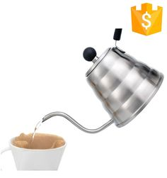 Newest Pour over drip coffee kettle/hario stainless steel gooseneck pour over drip coffee kettle #Kettle, #gooseneck