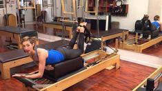 Hamstring Curls Double Leg Variation am Reformer – Lesley Logan Pilates - Pilates Workout Pilates Workout, Hiit, Pilates Reformer Exercises, Pilates Video, Pilates For Beginners, Beginner Pilates, Pilates Routines, Beginner Workouts, Pilates Fitness