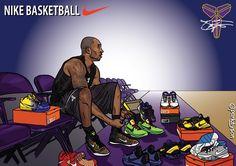 Nba Players, Basketball Players, Kobe Sneakers, Dear Basketball, Basketball Drawings, Kobe Bryant 8, Hakeem Olajuwon, Nba Funny, Nba Pictures