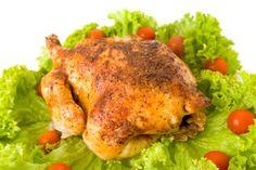 Pečené kura v zázvorovej zmesi