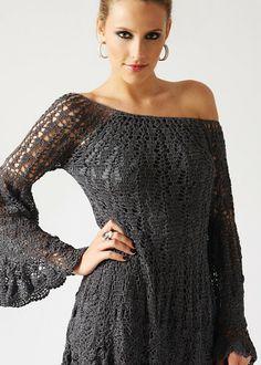 innovart en crochet: vestidos