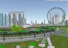 2011 - Communication through Visualization | Muhammad Sham bin Ithnain, Fawzi bin Yusof and Tian Yuan | Singapore Polytechnic (Singapore) | 'Vine Bridge'