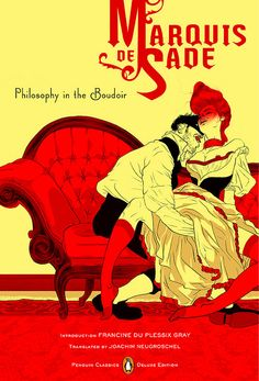philosophy in the boudoir - book cover art by tomer hanuka. with design by paul buckley