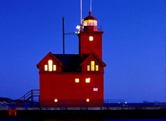 """Big Red"".Holland,Michigan"