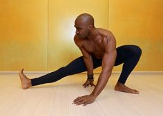 Wide Side Lunge Pose (Skandasana)