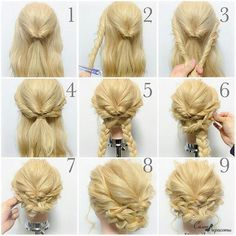 Hair braided updo frozen else look to it