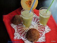 Moje Małe Czarowanie: Melonowy napój izotoniczny
